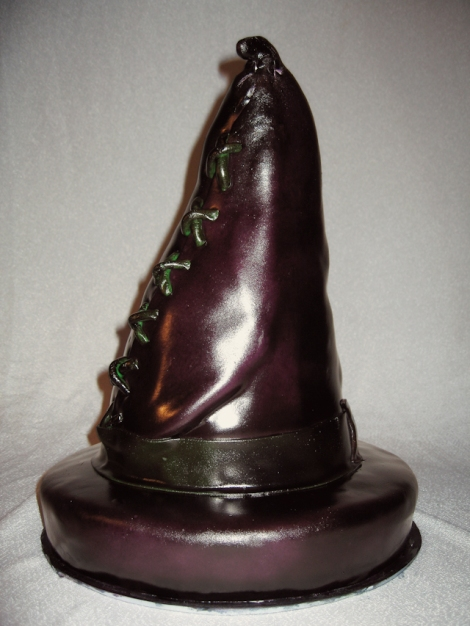 Witch Hat Cake