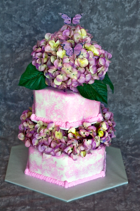 Purple Easter Cake
