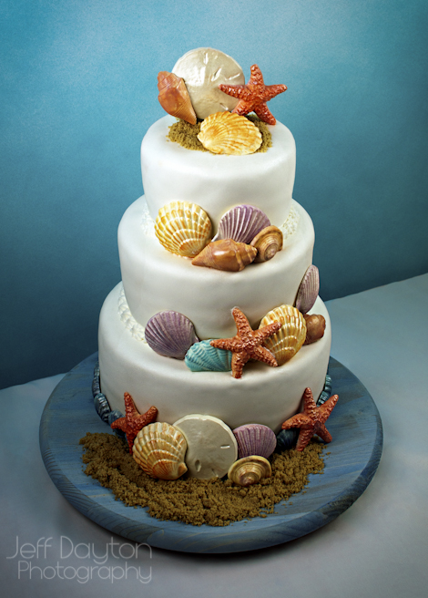 Seashell Birthday Cake